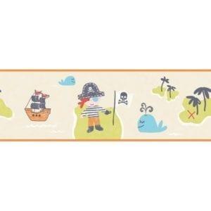 CENEFA DE PAPEL PINTADO CAROUSEL DLB50089