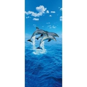 FOTOMURAL THREE DOLPHINS 599