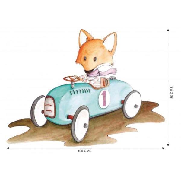VINILO INFANTIL FOXY FOX