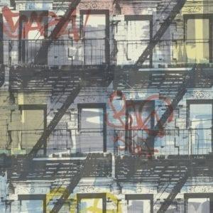 PAPEL PINTADO GRAFFITI NEW5001-2